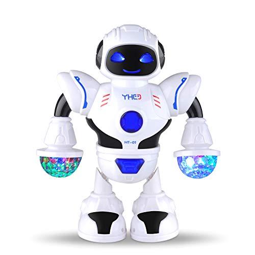 COSANSYS Intelligenter Multi Roboter für Kinder Elektronisches Spielzeug tanzen Roboter mit Musik und Licht, Disco und Jubel Roboter, blitzende Augen und blitzende Munder, als Geschenk für Kinder